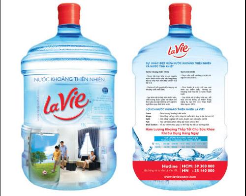 Nước Lavie bình 19L