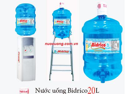 Nước uống Bidrico quận 8