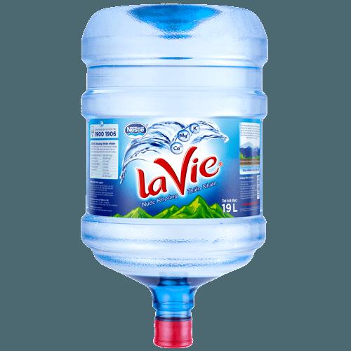 Nước Khoáng LaVie Bình 19L (20L)